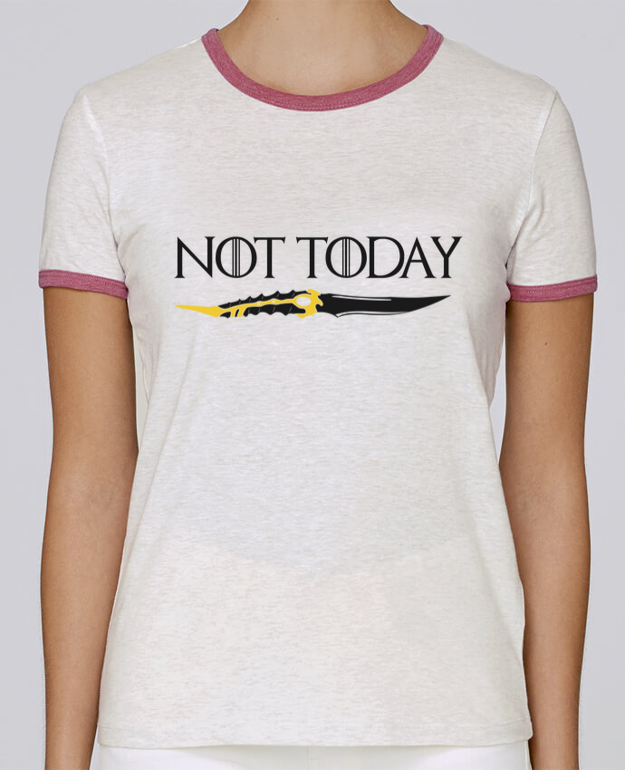 Camiseta Mujer Stella Returns Not today - Arya Stark pour femme por tunetoo
