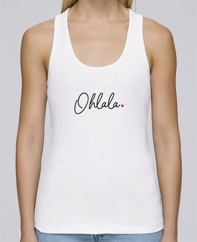 Camiseta de tirantes algodón orgánico mujer Stella Dreams Ohlala por Nana en coton Bio