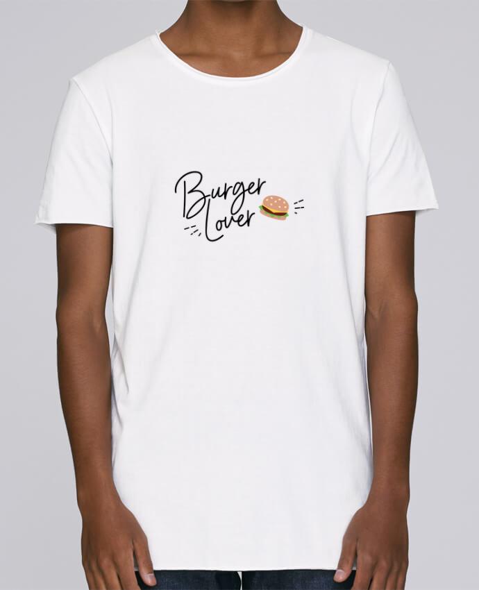 Camiseta Hombre Tallas Grandes Stanly Skates Burger Lover por Nana