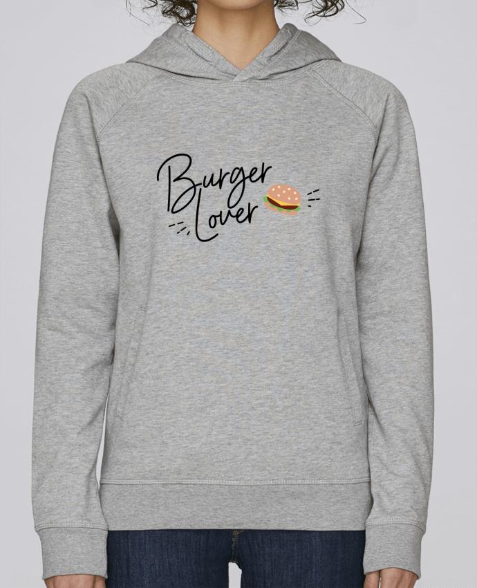 Sudadera Hombre Capucha Stanley Base Burger Lover por Nana