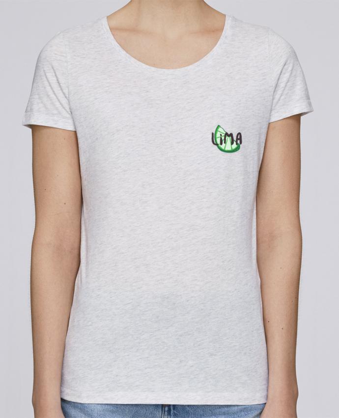 Camiseta Mujer Stellla Loves Tequila y lima 2 por tunetoo
