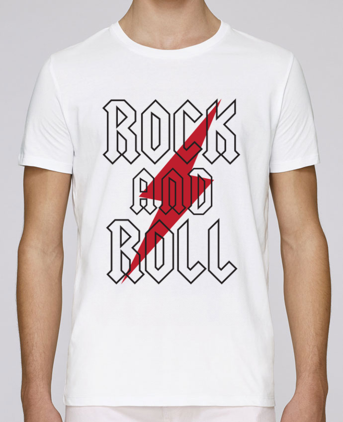 Camiseta Cuello Redondo Stanley Leads Rock And Roll por Freeyourshirt.com