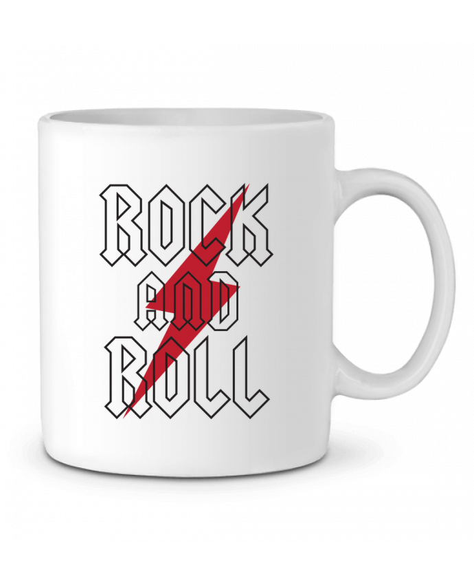 Taza Cerámica Rock And Roll por Freeyourshirt.com