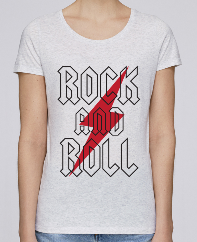 Camiseta Mujer Stellla Loves Rock And Roll por Freeyourshirt.com
