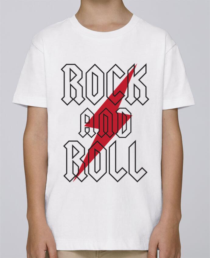 Camiseta de cuello redondo Stanley Mini Paint Rock And Roll por Freeyourshirt.com