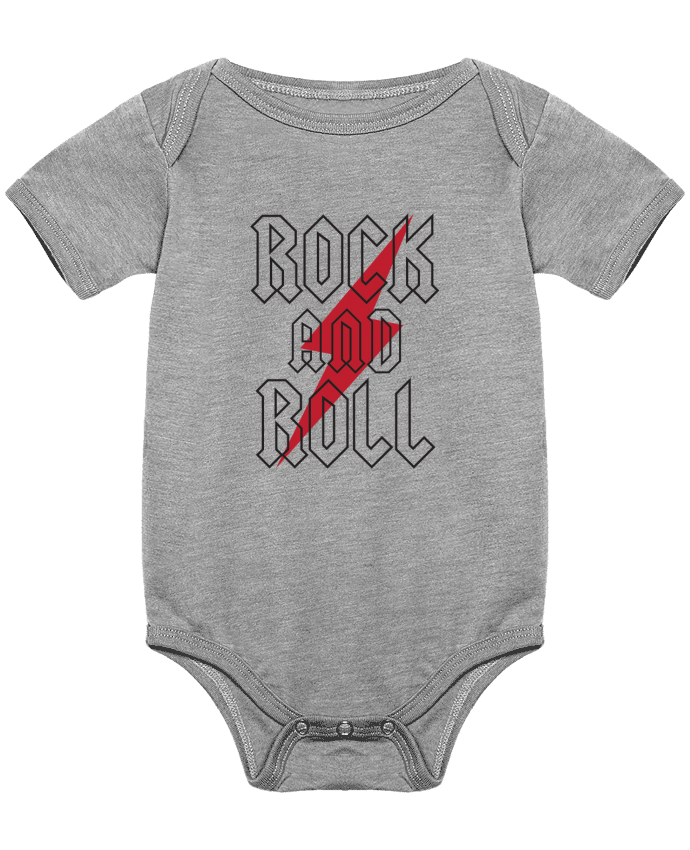 Body Bebé Rock And Roll por Freeyourshirt.com