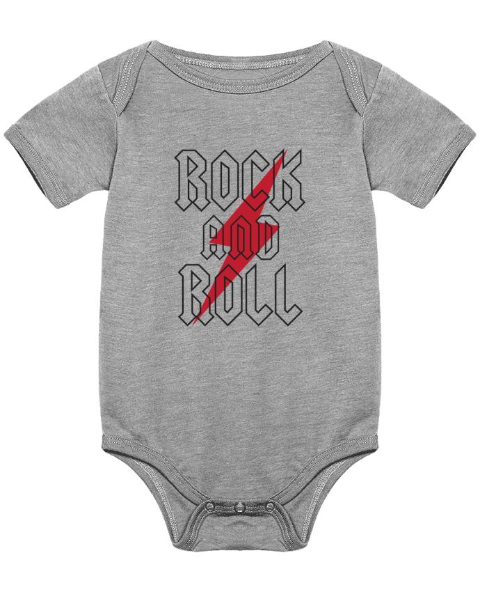 Body Bebé Rock And Roll por Freeyourshirt.com