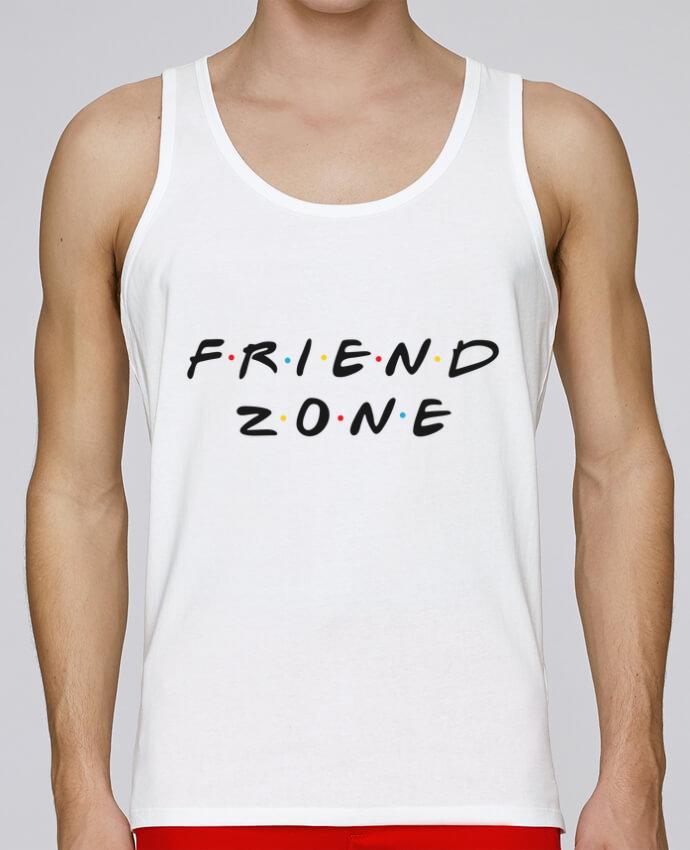 Camiseta de tirantes algodón orgánico hombre Stanley Runs FRIENDZONE por tunetoo 100% coton bio