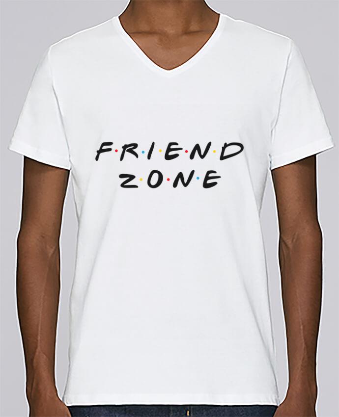 Camiseta Hombre Cuello en V Stanley Relaxes FRIENDZONE por tunetoo