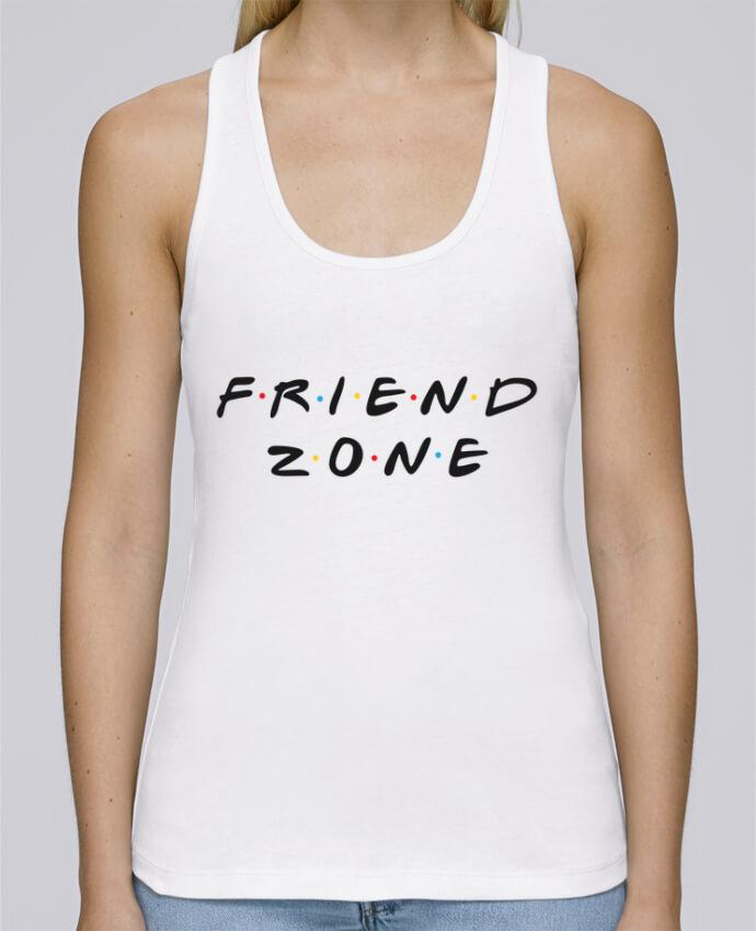 Camiseta de tirantes algodón orgánico mujer Stella Dreams FRIENDZONE por tunetoo en coton Bio