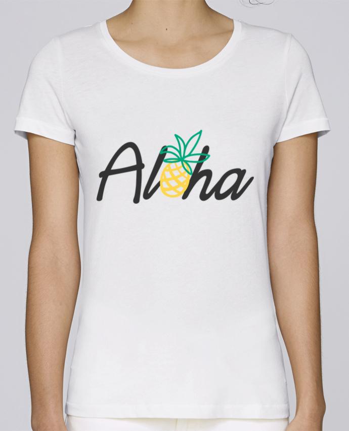 Camiseta Mujer Stellla Loves Aloha por tunetoo