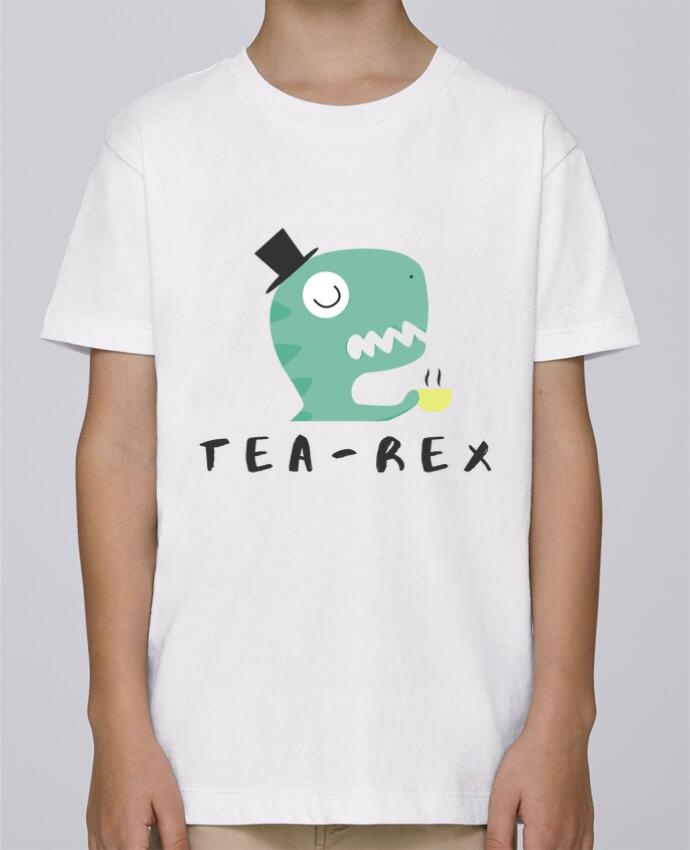 Camiseta de cuello redondo Stanley Mini Paint Tea-rex por tunetoo