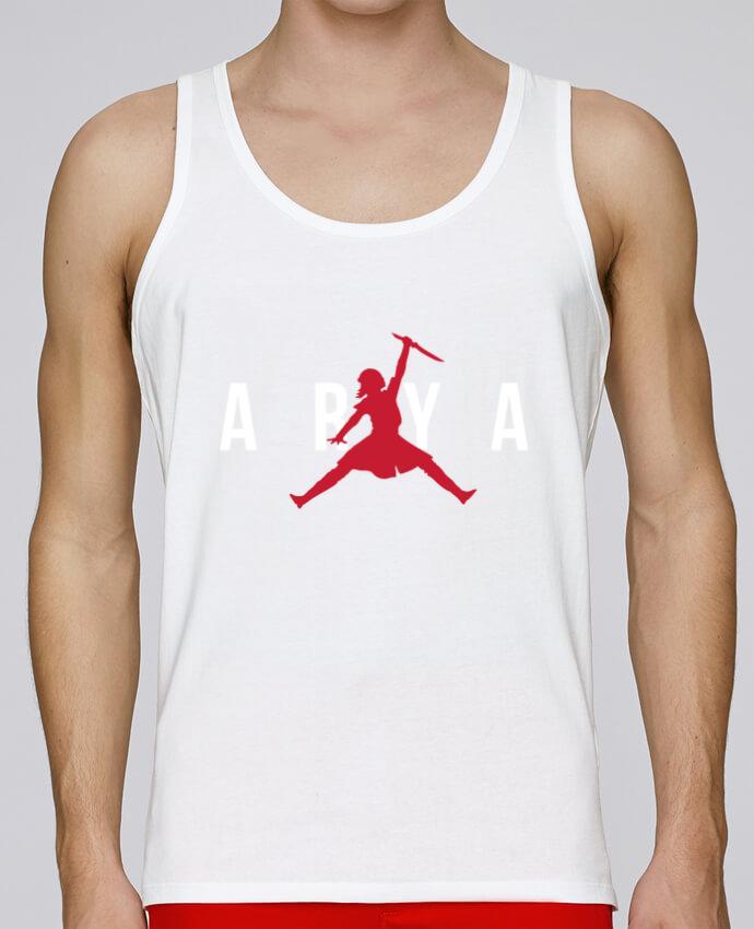 Camiseta de tirantes algodón orgánico hombre Stanley Runs Air Jordan ARYA por tunetoo 100% coton bio