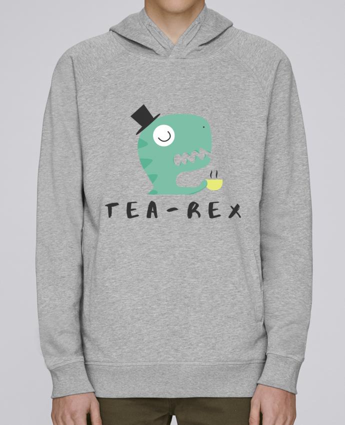 Sudadera Hombre Capucha Stanley Base Tea-rex por tunetoo