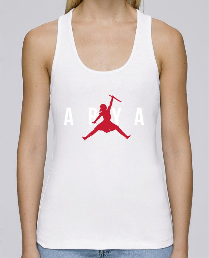 Camiseta de tirantes algodón orgánico mujer Stella Dreams Air Jordan ARYA por tunetoo en coton Bio