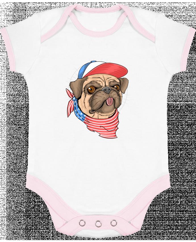 Body Bebé Contraste pets american style por Bsaif