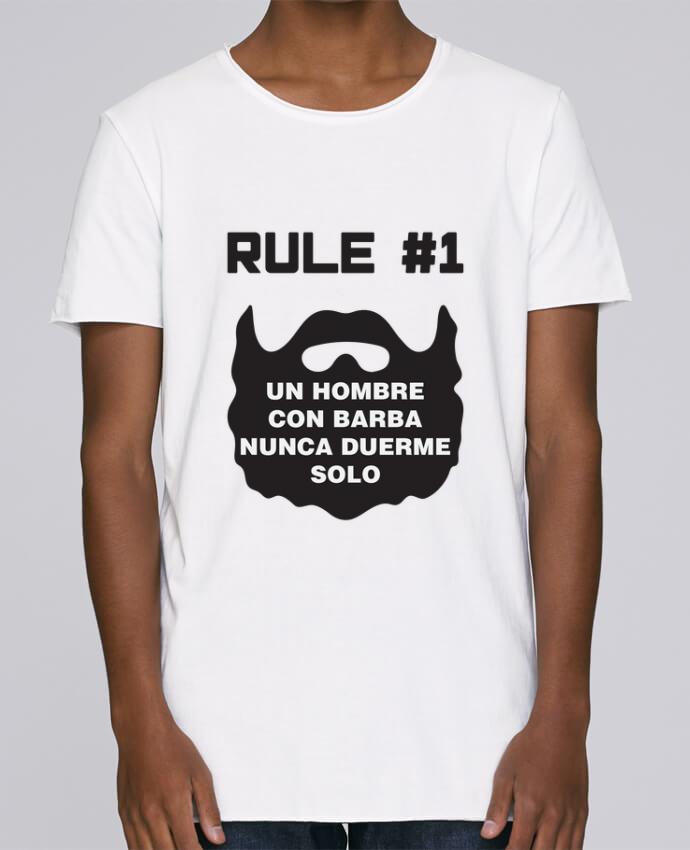Camiseta Hombre Tallas Grandes Stanly Skates Barbudo - Un hombre con barba nunca duerme solo por tunetoo