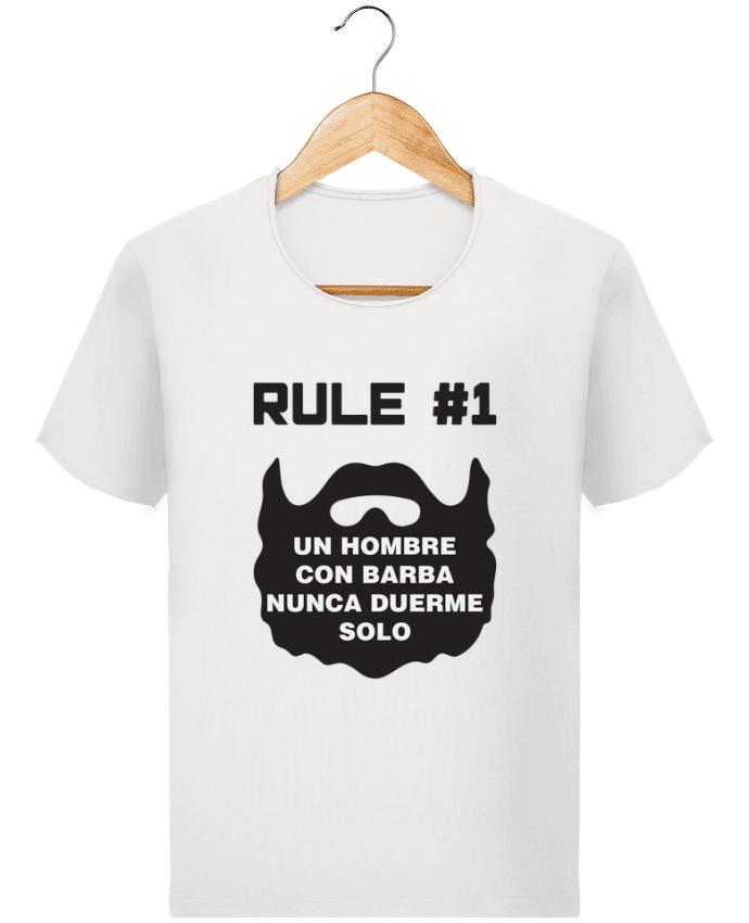 Camiseta Hombre Stanley Imagine Vintage Barbudo - Un hombre con barba nunca duerme solo por tunetoo