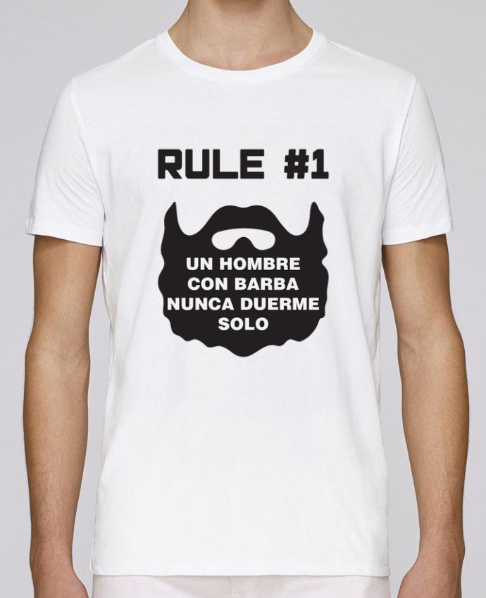 Camiseta Cuello Redondo Stanley Leads Barbudo - Un hombre con barba nunca duerme solo por tunetoo