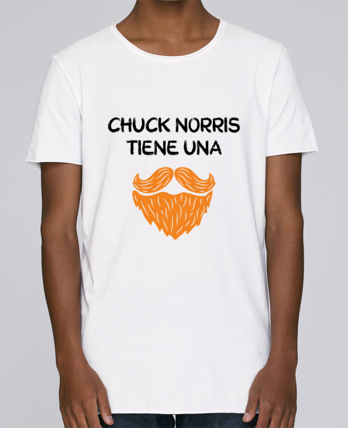 Camiseta Hombre Tallas Grandes Stanly Skates Chuck Norris - Barba por tunetoo