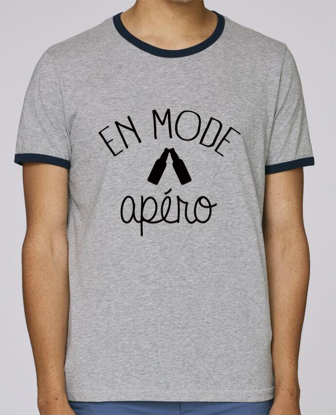 Camiseta Bordes Contrastados Hombre Stanley Holds En Mode Apéro pour femme por Freeyourshirt.com
