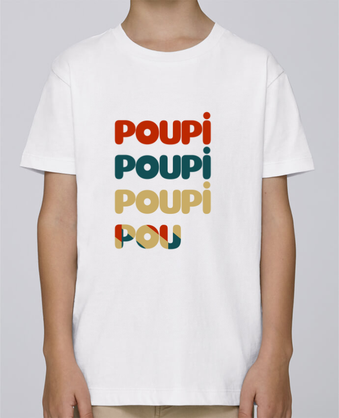 Camiseta de cuello redondo Stanley Mini Paint Poupi Poupi Poupi Pou por Le petit monde de Kélyan