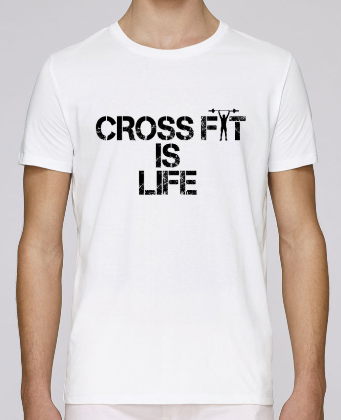 Camiseta Cuello Redondo Stanley Leads Crossfit is life por tunetoo