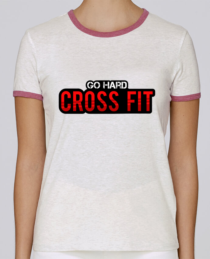 Camiseta Mujer Stella Returns Go Hard ! Crossfit pour femme por tunetoo