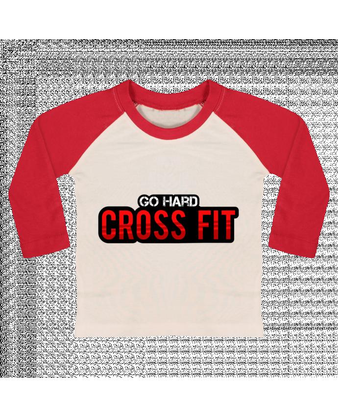 Camiseta Bebé Béisbol Manga Larga Go Hard ! Crossfit por tunetoo