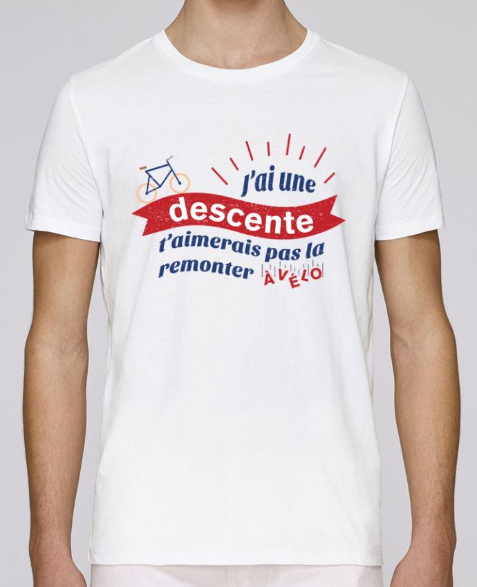 Camiseta Cuello Redondo Stanley Leads J'ai une descente t'aimerais pas la remonter à vélo por tunetoo