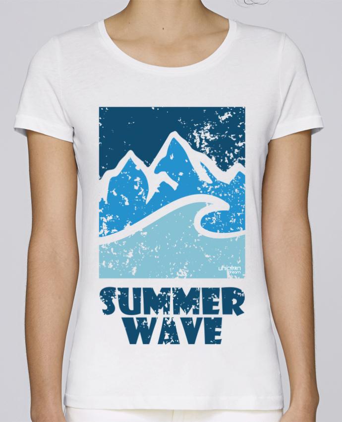 Camiseta Mujer Stellla Loves SummerWAVE-02 por Marie