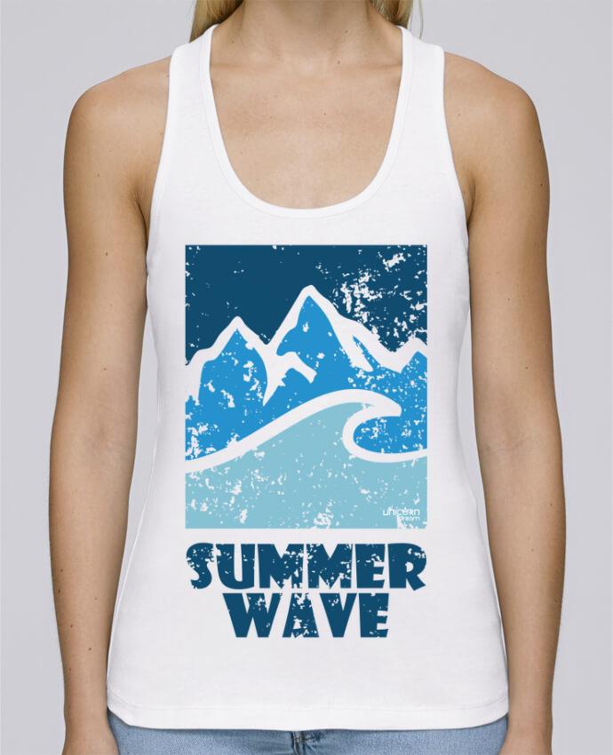 Camiseta de tirantes algodón orgánico mujer Stella Dreams SummerWAVE-02 por Marie en coton Bio