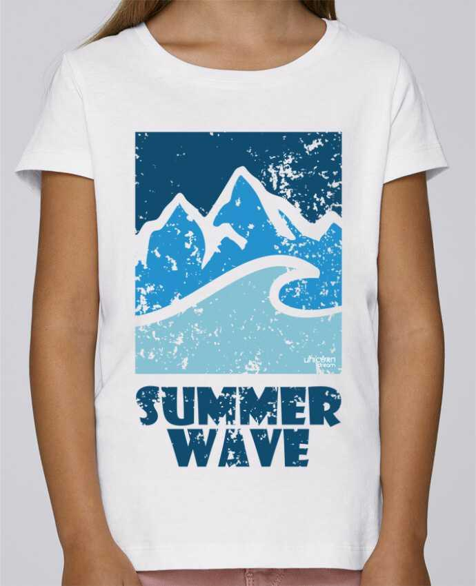 Camiseta Niña Stella Draws SummerWAVE-02 por Marie