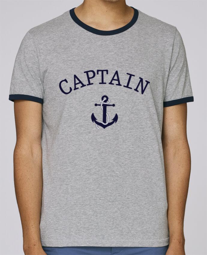 Camiseta Bordes Contrastados Hombre Stanley Holds Capitain and first mate pour femme por tunetoo