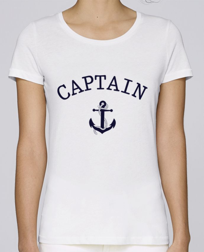 Camiseta Mujer Stellla Loves Capitain and first mate por tunetoo