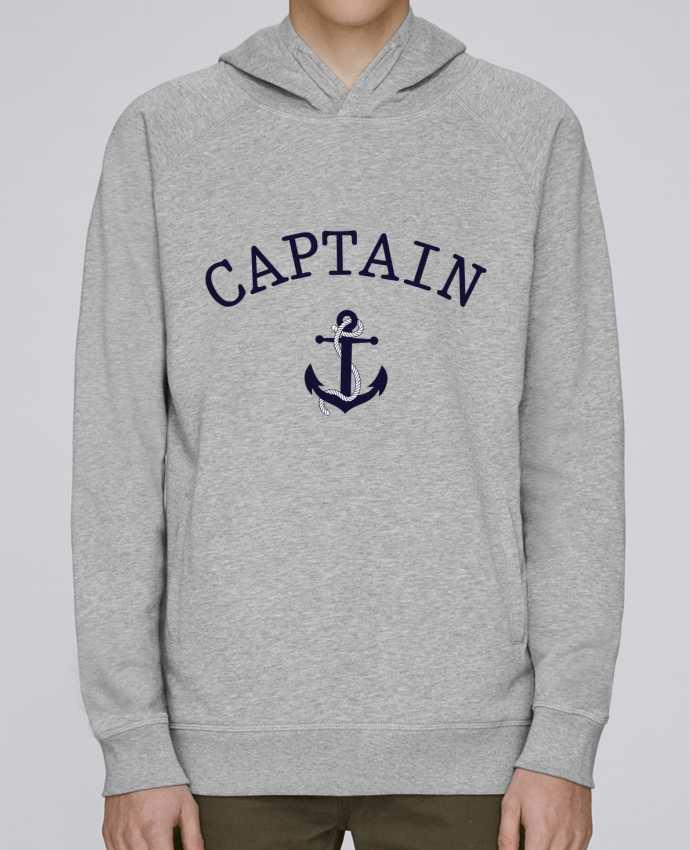 Sudadera Hombre Capucha Stanley Base Capitain and first mate por tunetoo