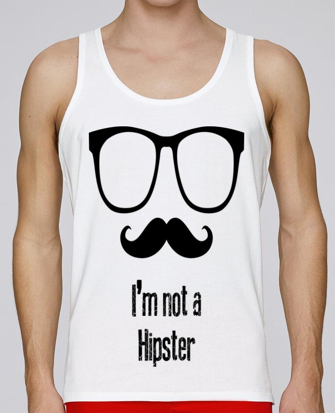 Camiseta de tirantes algodón orgánico hombre Stanley Runs HIPSTER por Tchilleur 100% coton bio