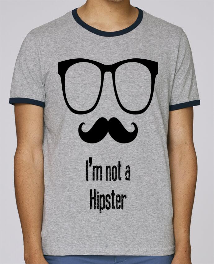 Camiseta Bordes Contrastados Hombre Stanley Holds HIPSTER pour femme por Tchilleur
