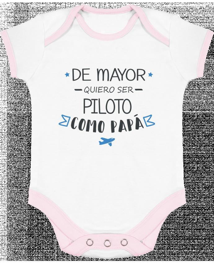 Body Bebé Contraste De mayor quiero ser piloto como papa por tunetoo