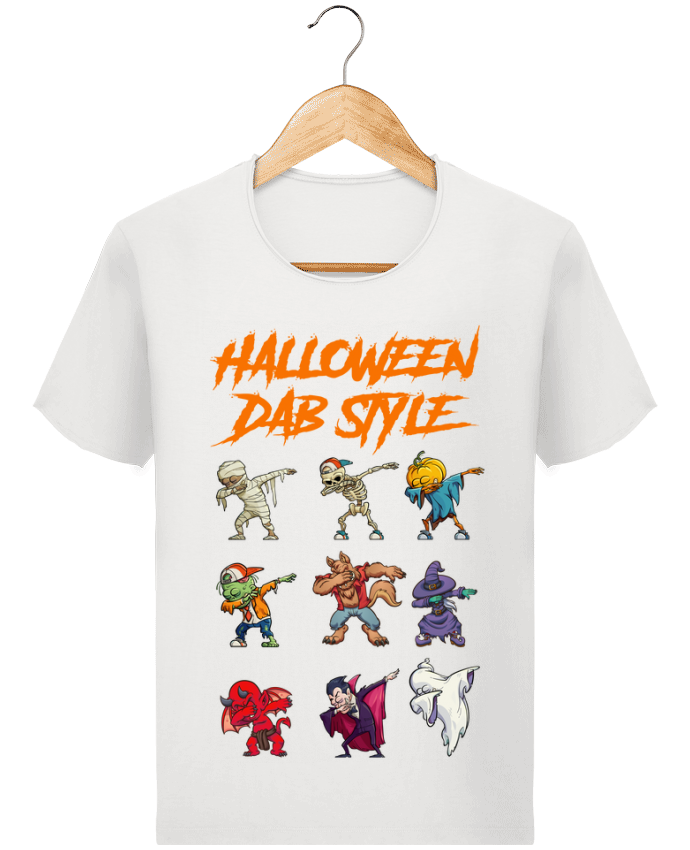 Camiseta Hombre Stanley Imagine Vintage HALLOWEEN DAB STYLE por fred design