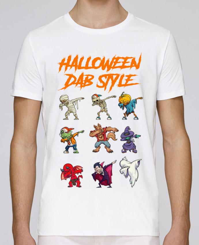 Camiseta Cuello Redondo Stanley Leads HALLOWEEN DAB STYLE por fred design