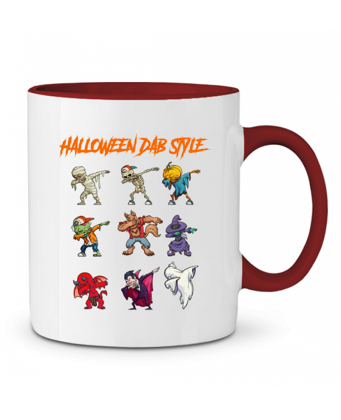 Taza Cerámica Bicolor HALLOWEEN DAB STYLE fred design