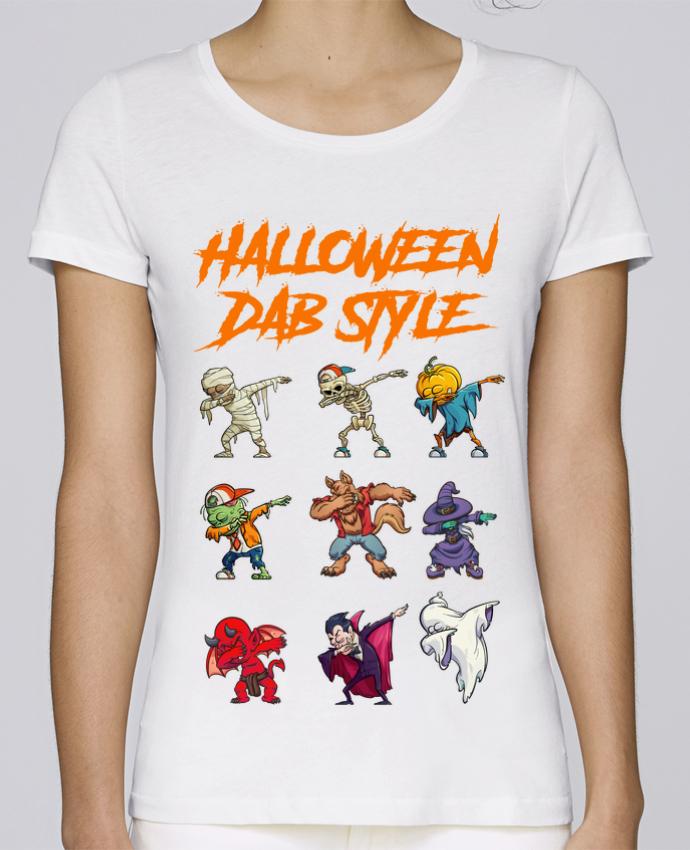 Camiseta Mujer Stellla Loves HALLOWEEN DAB STYLE por fred design