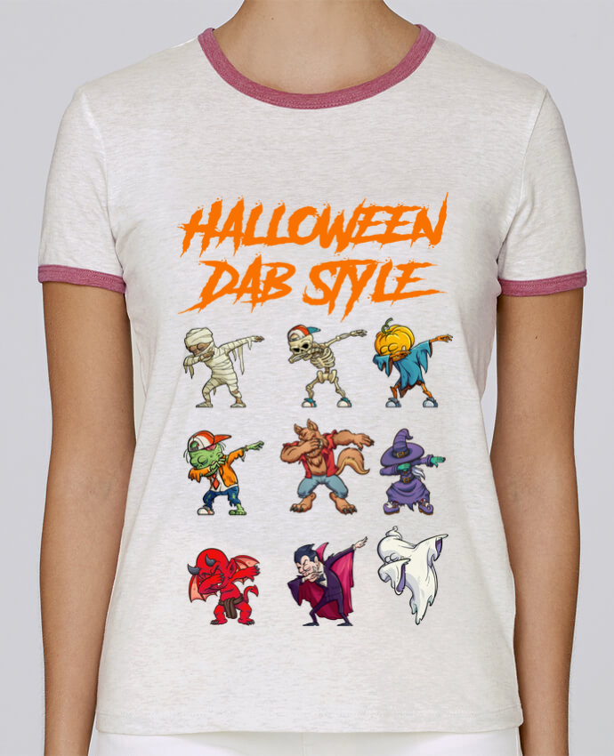 Camiseta Mujer Stella Returns HALLOWEEN DAB STYLE pour femme por fred design