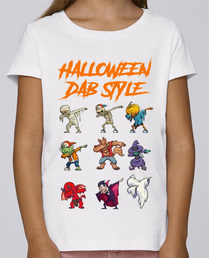 Camiseta Niña Stella Draws HALLOWEEN DAB STYLE por fred design
