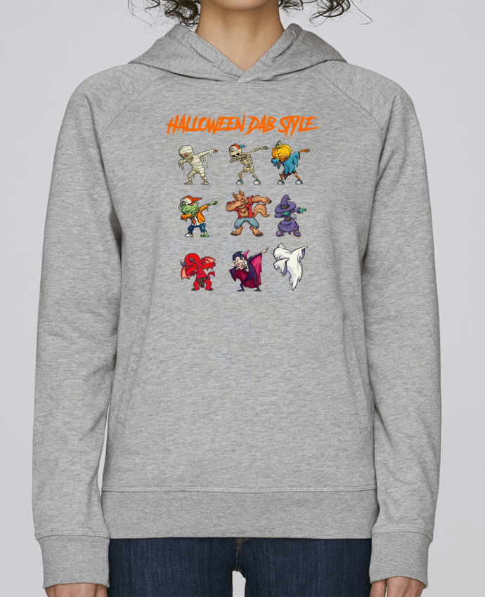 Sudadera Hombre Capucha Stanley Base HALLOWEEN DAB STYLE por fred design