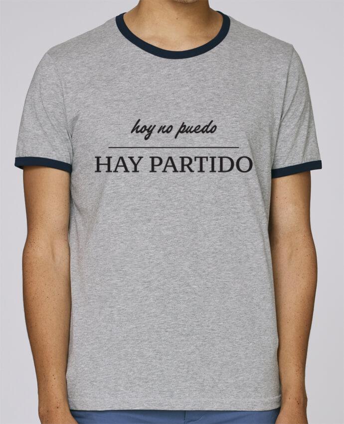 Camiseta Bordes Contrastados Hombre Stanley Holds hoy no puedo hay portido pour femme por tunetoo