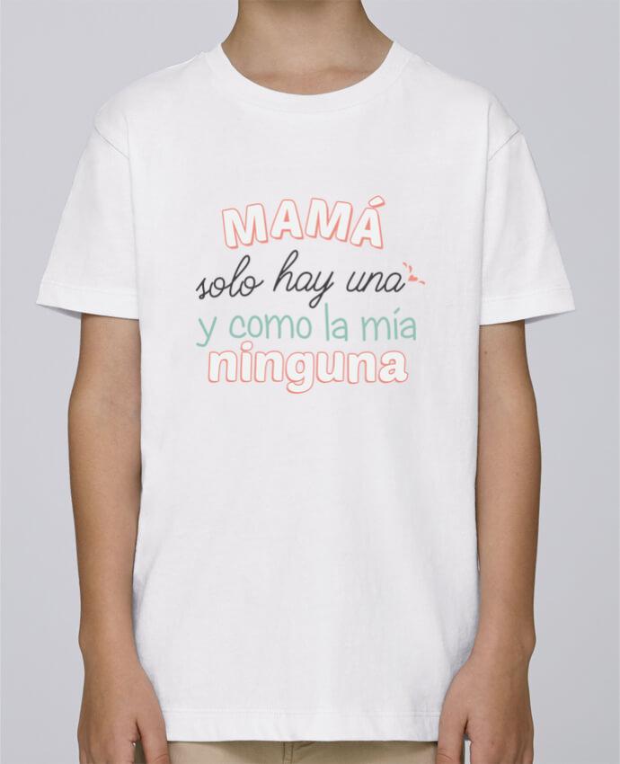 Camiseta de cuello redondo Stanley Mini Paint Mama solo hay una y como la mia ninguna por tunetoo