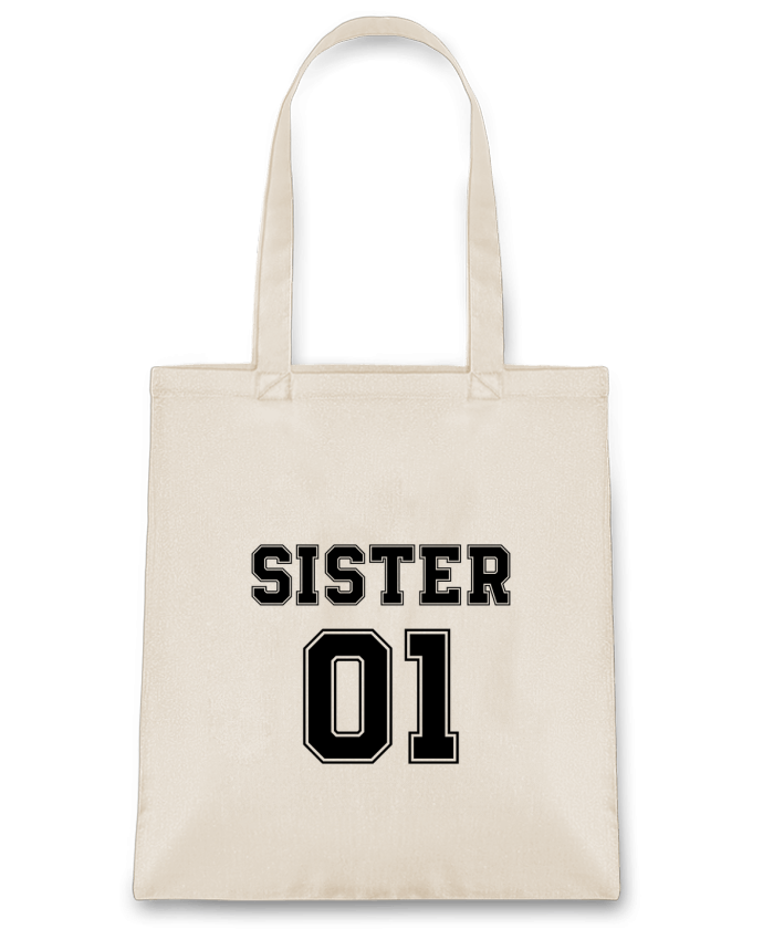 Bolsa de Tela de Algodón Sister 01 por tunetoo