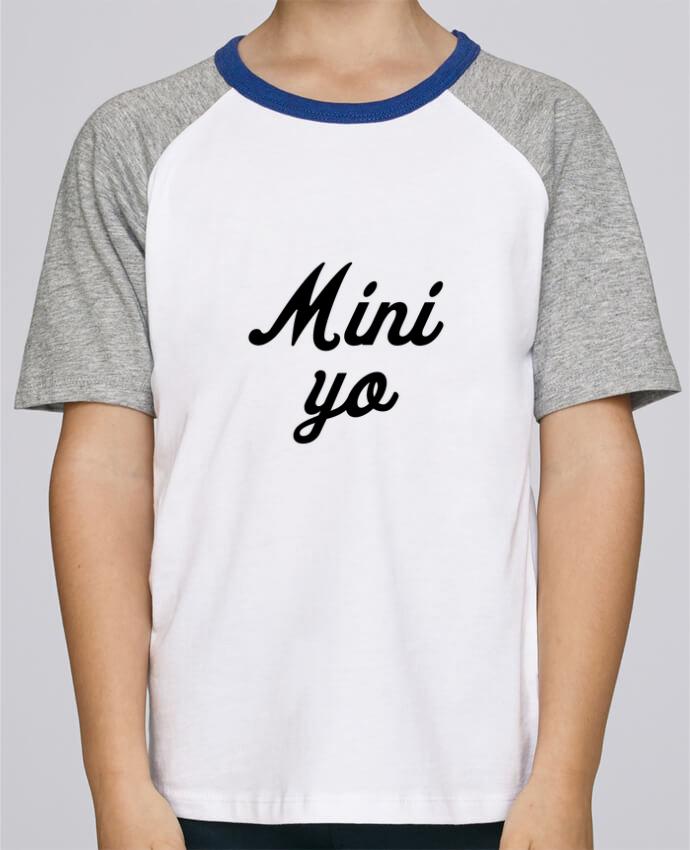Camiseta de manga ranglan corta en contraste Stanley Mini Jump Short Sleeve Mini yo por tunetoo